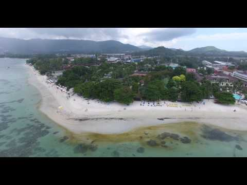4K DJI Phantom 4  of 2017 Flight shooting Koh Samui Beach Thailand part 01
