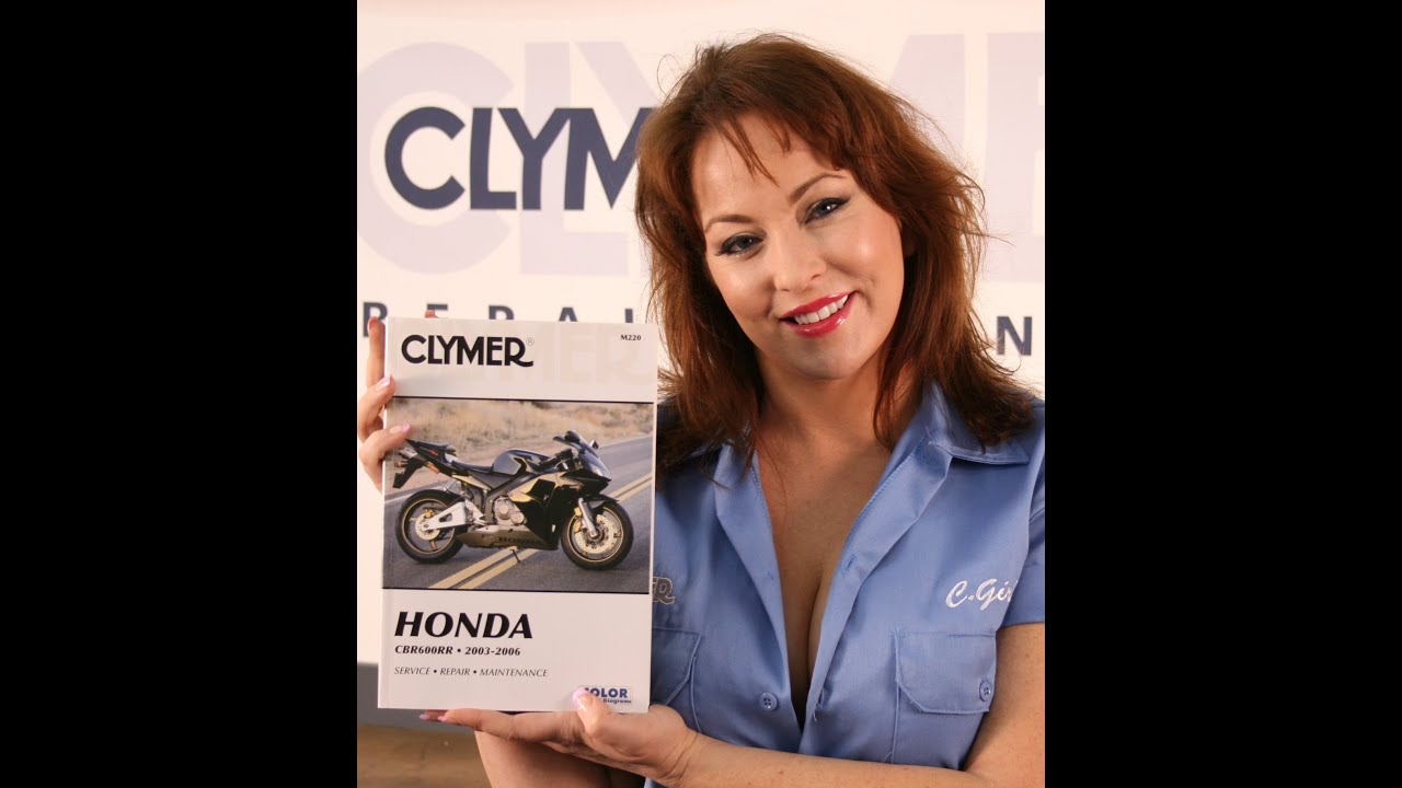 clymer manual video sneak peek for 2003
