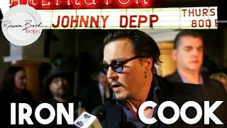 Johnny Depp with Rebecca Brand at Santa Barbara International Film Festival Feb 2016