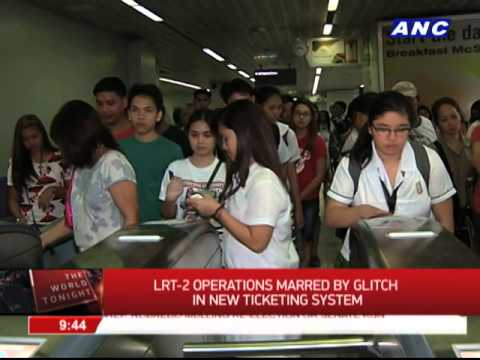 LRT-2 operations marred by glitch in new ticketing system
