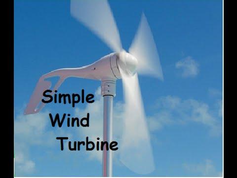 Wind Turbine Generator 1, 400 watt 3 blade, INFO BELOW
