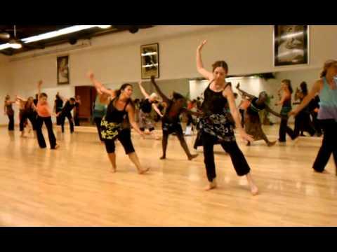Santa Barbara African dance class..