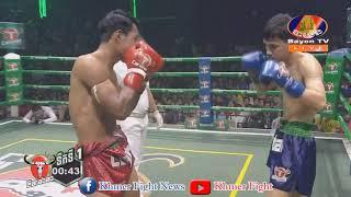 ឯម សុធី vs ផាយ៉ាក់ហ៊ីរ៉ាន់ (ថៃ), Bayon Kun Khmer Boxing 25-08-2019