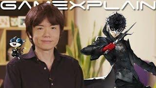 Sakurai Talks Smash Bros. Ultimate's 3.0 Update, Joker, & the Lack of Cooperative Modes (Famitsu) thumbnail