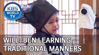 Will-Ben learning traditional manners [The Return of Superman/2020.03.29]