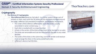 CISSP Domain 3: Security Architecture and Engineering - The history of cryptography
