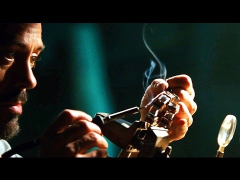 Tony Stark Builds Miniature Arc Reactor (Scene) - Iron Man (2008) - Movie CLIP HD