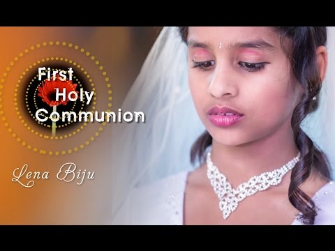 First Holy communion - Lena Biju