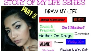 DRAW MY LIFE PART 2 Story Of My Life Series - Being Raped - Finding A Happy Ending - Alexisjayda