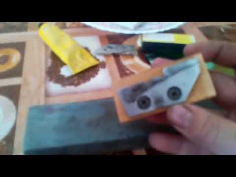 Заточка ножей ледобура по Феншую