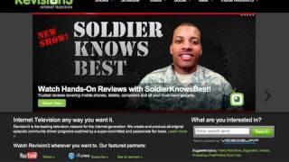 Soldier joining Revision3!!!