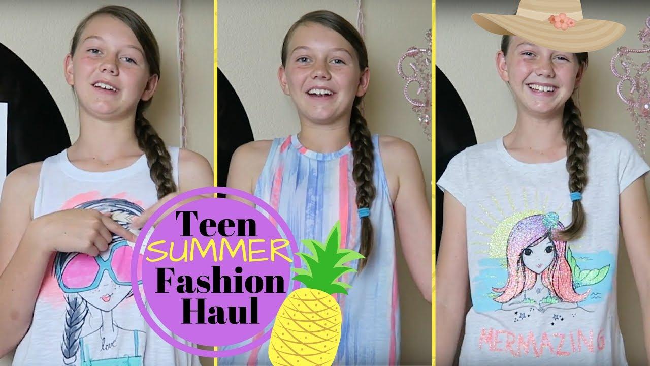 d3d343378e1 Teen Summer Fashion Haul 2017 - YouTube