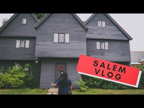 A Day In Salem Mass   Travel Vlog