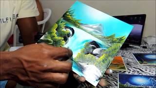 Impressionante arte no Azulejo