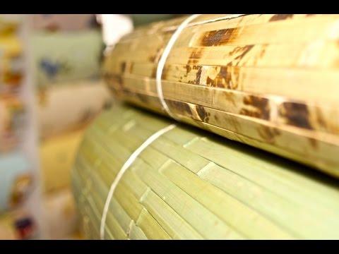 Как клеить бамбуковые обои. Видео-инструкция по поклейке бамбуковых обоев