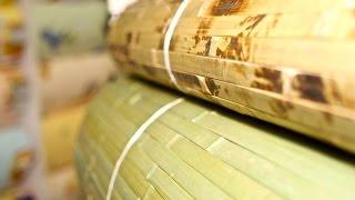 Как клеить бамбуковые обои. Видео-инструкция по поклейке бамбуковых обоев(Бамбуковые обои в интерьере уже сами по себе являются элементом декора и могут подойти к любому помещению...., 2014-10-04T15:06:44.000Z)