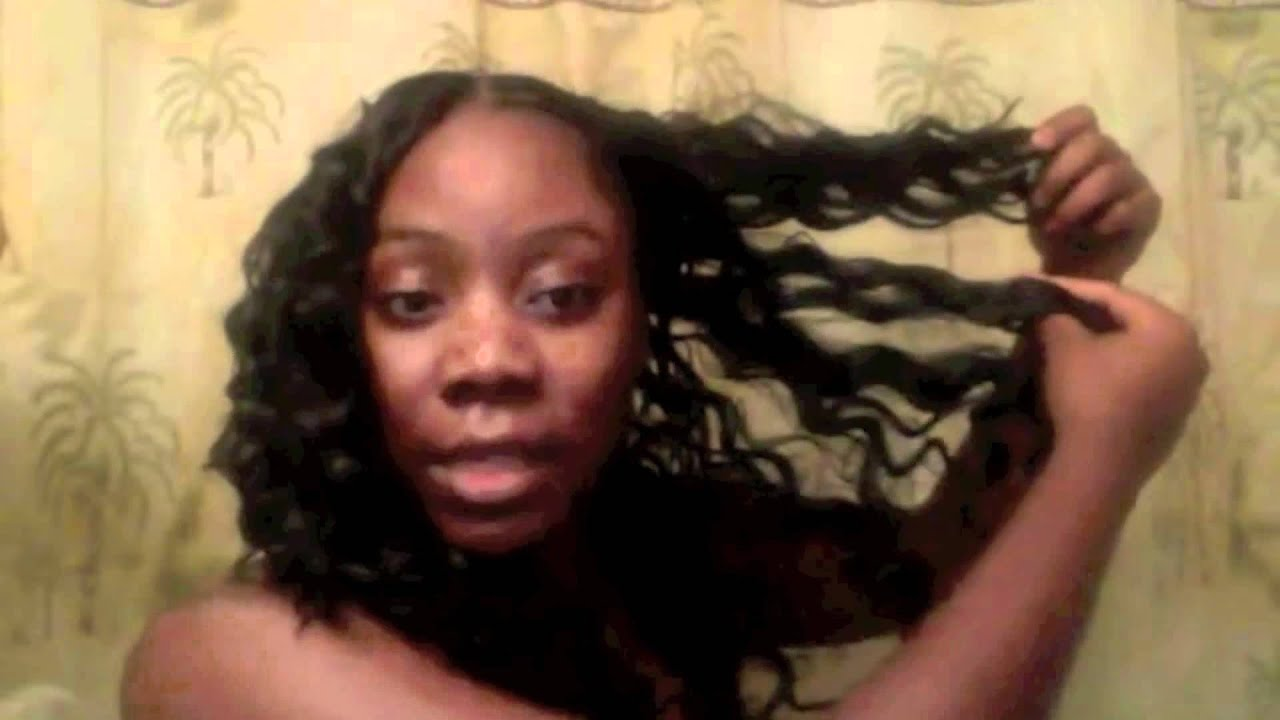 Invisible Part Sew In Curly Hair Invisible part sew in ...
