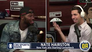 Jets CB Nate Hairston laughs at Jerry Jones' naked Zeke story I D.A. on CBS