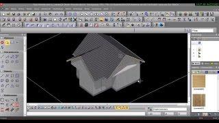 Akademia EliteCAD: Lekcja 5 - Budowanie dachu i wstawianie rynien