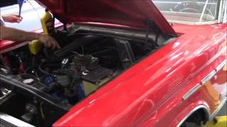 1965 Mercury Comet Engine Start Up & Break In