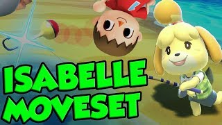 isabelle smash bros