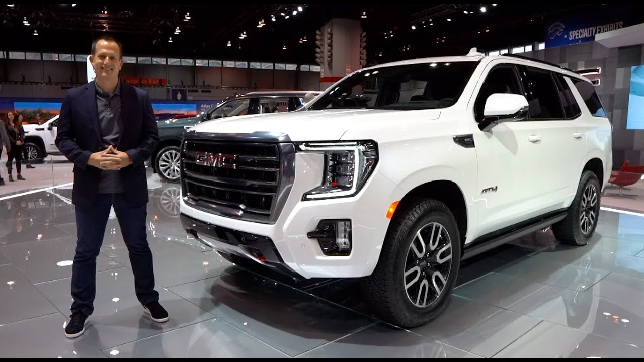 Is The All New 2021 Gmc Yukon At4 The Ultimate Off Road 3 Row Suv Youtube
