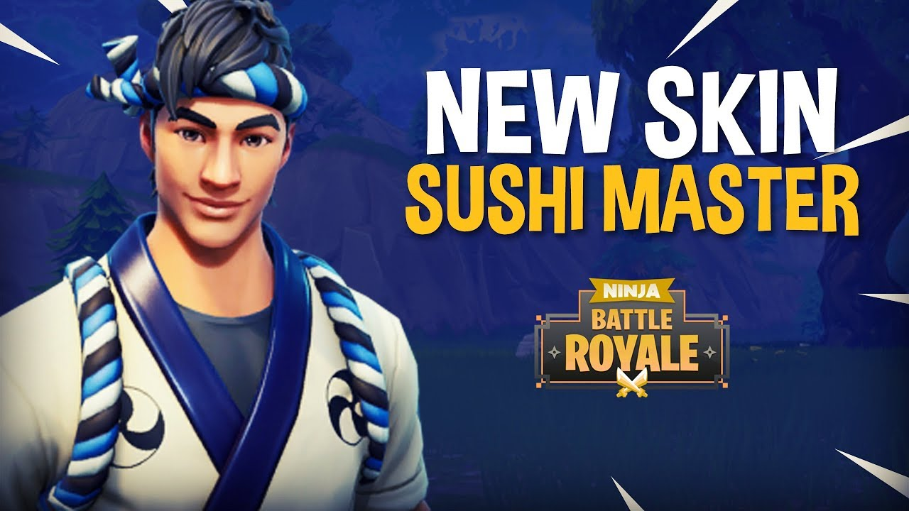 New Sushi Master Skin!! - Fortnite Battle Royale Gameplay - Ninja
