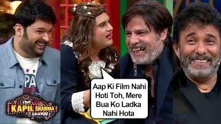 Krushna Abhishek aka Sapna Funny MASSAGE Tips To Rahul Roy & Deepak Tijori | The Kapil Sharma Show