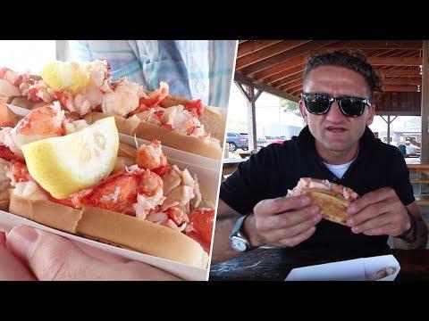 Casey Neistat's Perfect Lobster Roll- David VS Restaurants