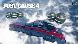 Just Cause 4 #23 - Thử thách cho tàu lửa bay và chở toa hàng bằng máy bay to nhất