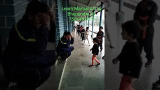 Bhupendra sir student Little baby girl Avni learning Martial art