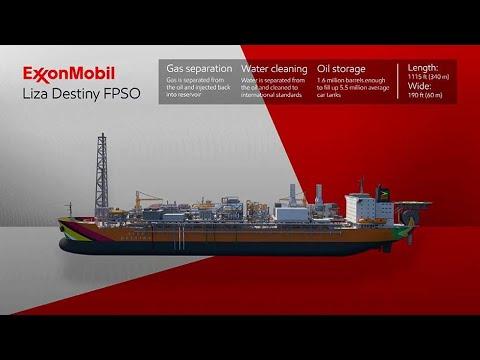 ExxonMobil Liza Project In Guyana