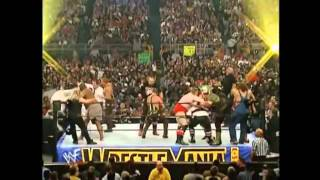 Gimmick Battle Royal _ WrestleMania X-Seven
