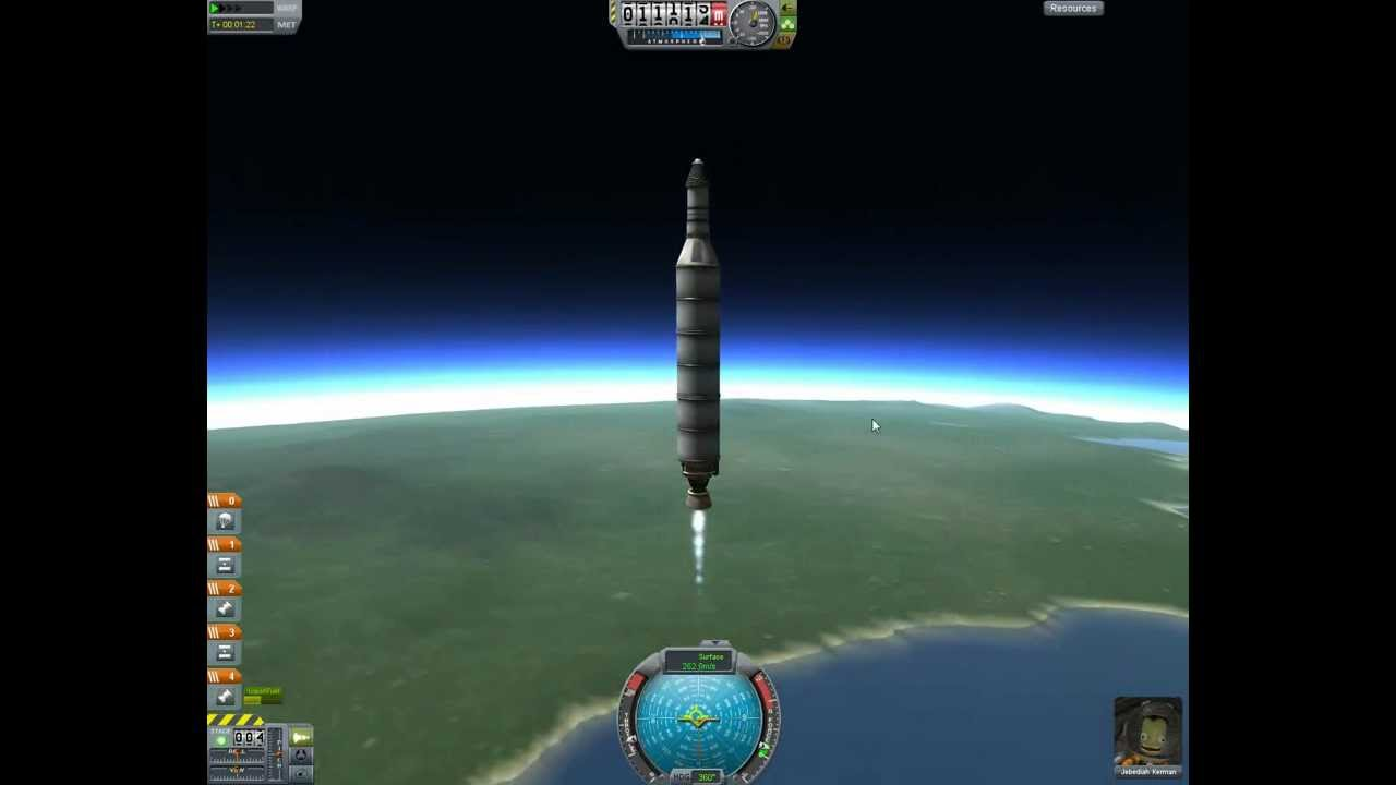 simple rocket kerbal space program - photo #22