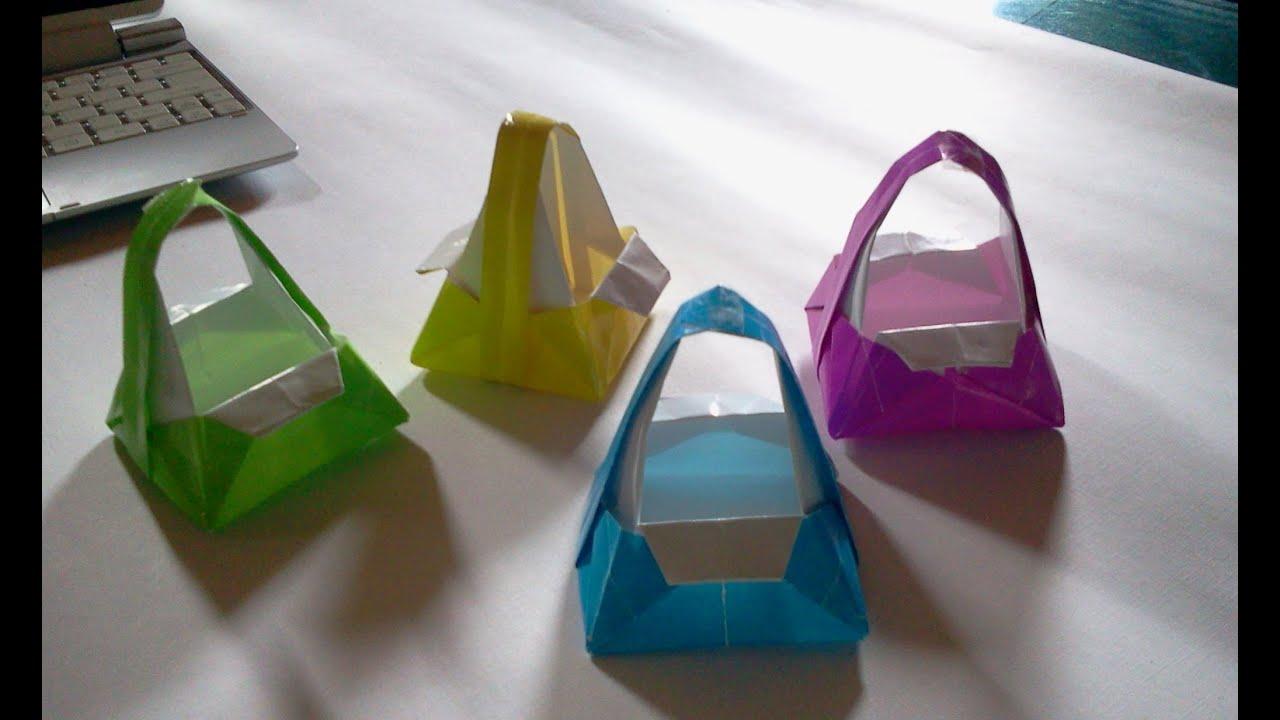 Origami Bag Origami Youtube