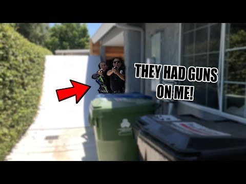 THEY BROKE INTO MY HOUSE!