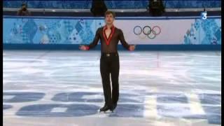 Le programme long de Brian Joubert aux Jeux Olympiques de Sotchi