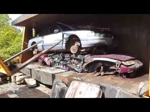car crusher crushing cars 26