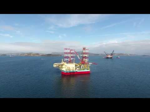 Maersk Invincible, Stavanger. Part 2