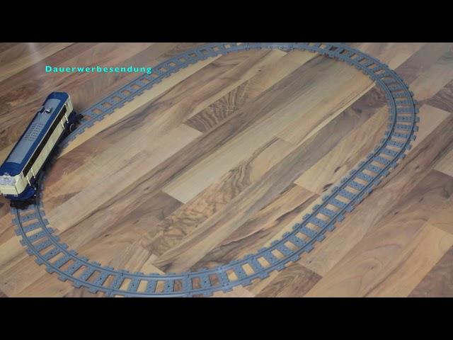 Baufehler bei Bluebrixx BR 218 und Motorisierung mit Bluebrixx Eisenbahnmotor und RC Fernbedienung