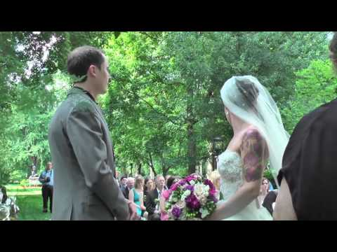The Wedding Ceremony of Carrie Summers to Daniel Chamberlain