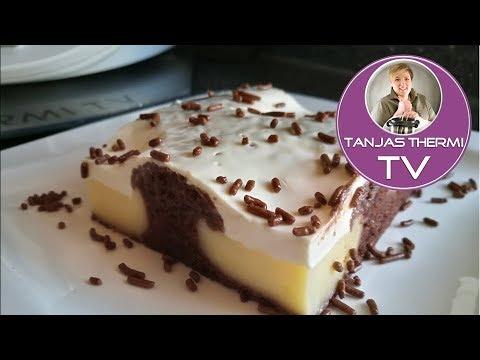 Thermomix Tm5 Schoko Puddingschnitten Tanjasthermitv Youtube