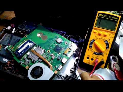 Repeat HOW TO REPAIR TOSHIBA NB 520 NB520 NO DISPLAY, SOLVED by