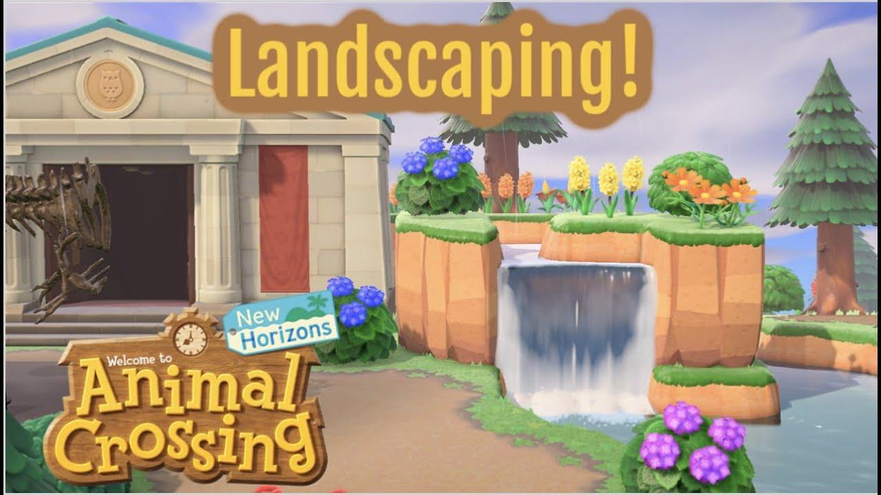 Landscaping - Animal Crossing New Horizons - YouTube