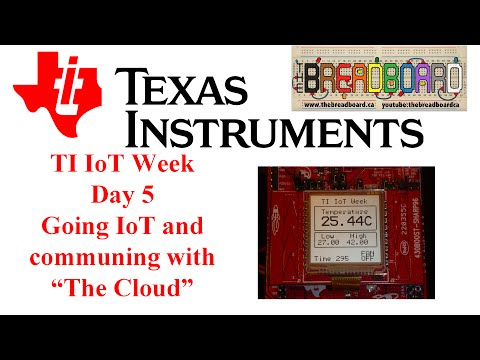 TI IoT Week, Sensor Node Project Part 5