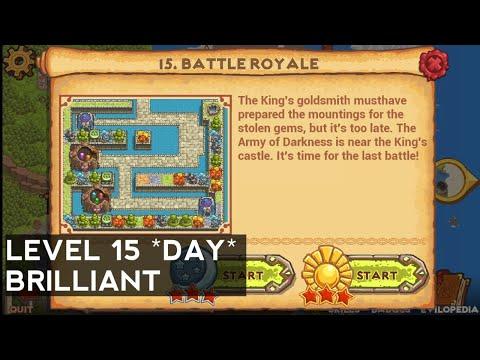 Cursed Treasure 2 - Level 15 - Battle Royale (DAY) BRILLIANT  
