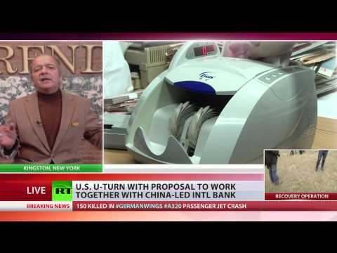 'US losing financial credibility' - Gerald Celente on China intl bank
