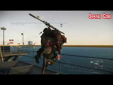 MGSV TPP FOB #69 Difesa Vs I'm Peach The Orange Creature