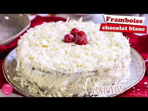 🏔-gÂteau-edelweiss---framboise-chocolat-blanc-🏔