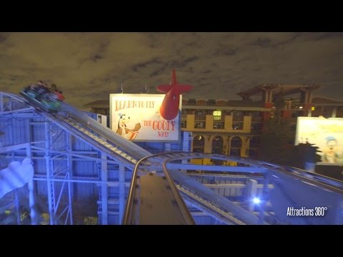 [4K] Goofy Roller Coaster  - Disney California Adventure